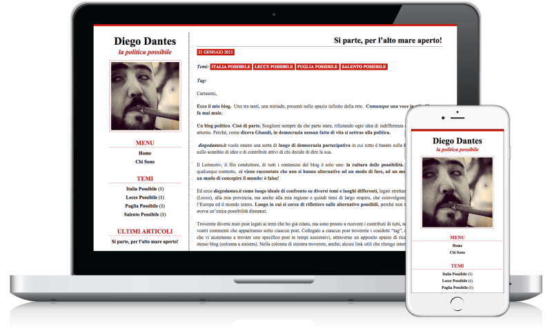 Blog di Diego Dantes