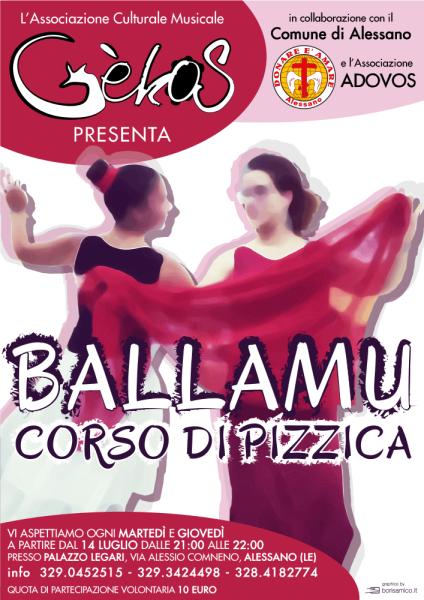 Ballamu – Corso di Pizzica