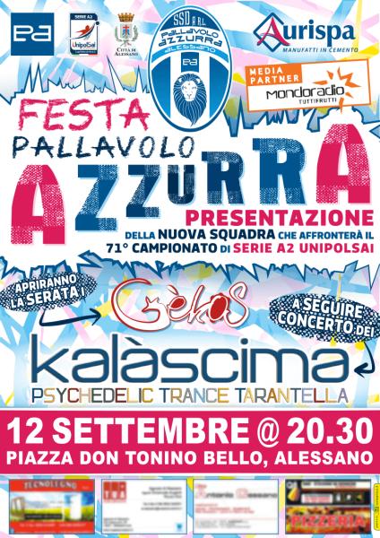 Festa Pallavolo Azzurra 2015