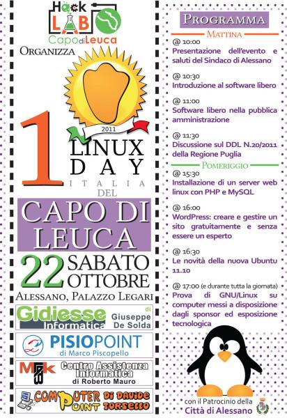 Linux Day Capo di Leuca 2011