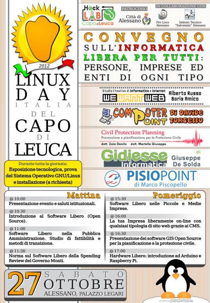 Linux Day Capo di Leuca 2012