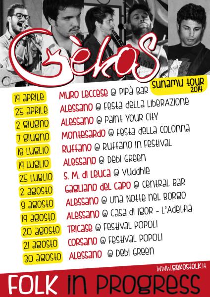 Gèkos Sunamu Tour