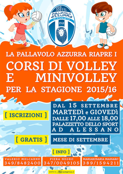 Corsi Volley e Minivolley